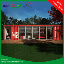 20ft 40ft eps sandwich panel ligt steel shipping container prefabricated portable premade mobile container modular house