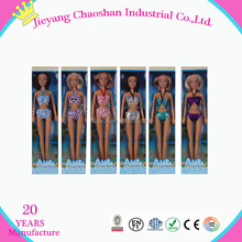 Custom Black Fashion Doll Plastic Dolls Wholesale Girl Doll Manufacture China