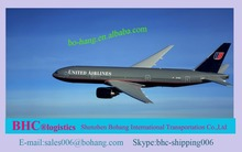 cheap air freight rates for electronic cigarette from China to India