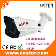 p2p ip camera software 2.0 MP low illumination 0.01 lux zoom/focus network security ip camera
