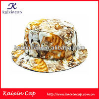 Custom Bucket Cap/Hats With Digital Print Cat Pattern Wholesale Alibaba And China