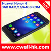Hotsaling Factory durectly supply huawei honor 6 tempered glass screen protector mobile accessories made in china