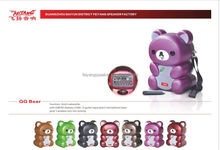 QQ bear speaker with usb,sd,fm,belt(QQ BEAR)
