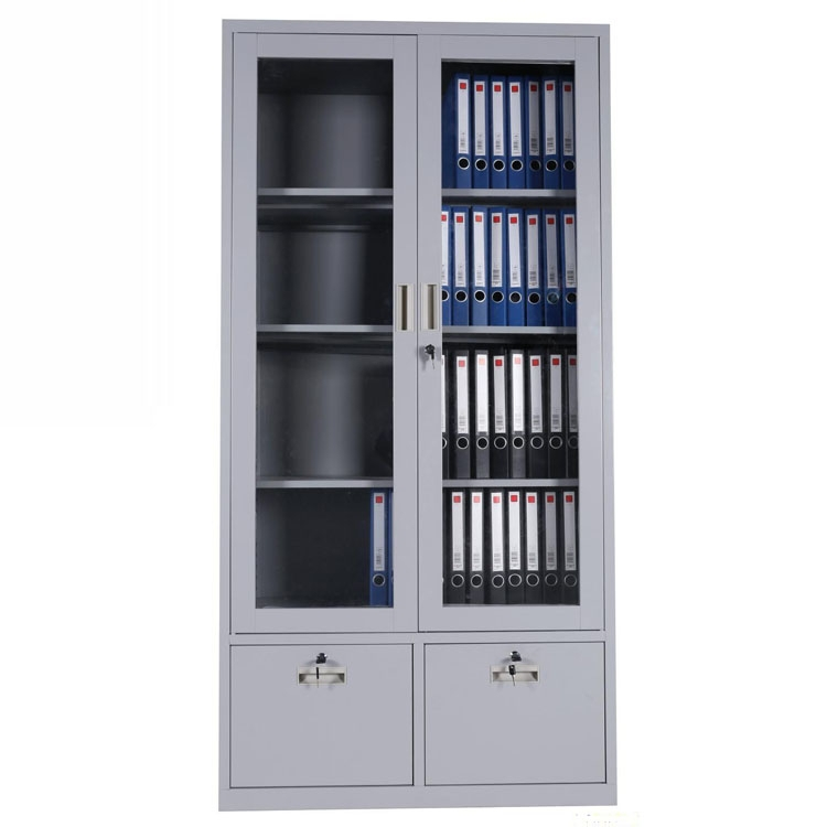Steel Inner Safe Glass Doors Filing Cabinet Malaysia Metal Storage