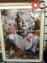 moderna de la lata de pintura de la pared decoración de mujer caliente imágenes de sexo