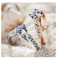 Кольцо 18K anillos aneis femininos GH611