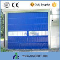Standard fold up quick rolling pvc door