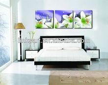 2012 hot sale fllower canvas wall art prints