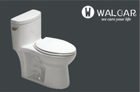 Sanitary s-trap 250mm siphonic & washdown chinese bathroom toilet