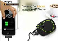 2015 mobile travel charger 9000mah power bank waterproof dustproof shockproof