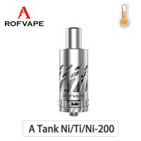 Rofvape newest TC control A Tank atomizer for temprature control electronic cigarette device