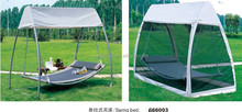 2015 hot sale outdoor canopy hanging bed/swing bed