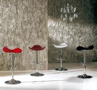 Modern Triangle Wooden Bar Stools Metal Frame New Design Lift High Bar Chair/ Bar Chair