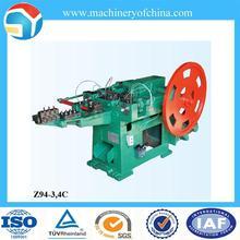 hierro que hace la máquina clavo de acero
