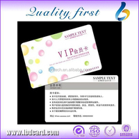 MIFARE CMYK Printing Business Chip Cards