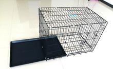 plastic dog cage
