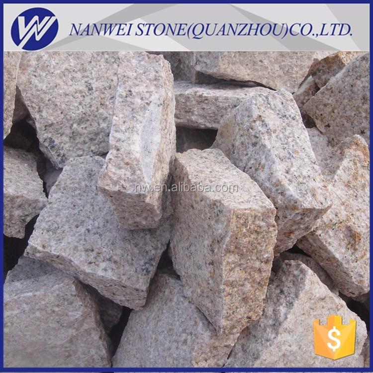 Rústico cubos de granito de pavimentação de paralelepípedos de granito telhas do granito resguardo