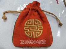 popular Gift Bag drawstring bag and fashion velevt bag