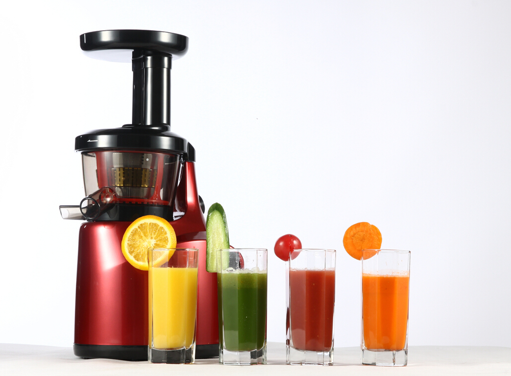 Slow Juicer Extractor : High Quality Pei Screw 150w 65rpm Ac Motor Slow Juicer ...