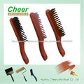 nuevo estilo cepillo/mostrodor de alambre de acero con mango plástico ancho modelo 6203