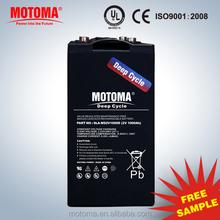 Deep cycle 2v 1000ah battery solar battery 24V system