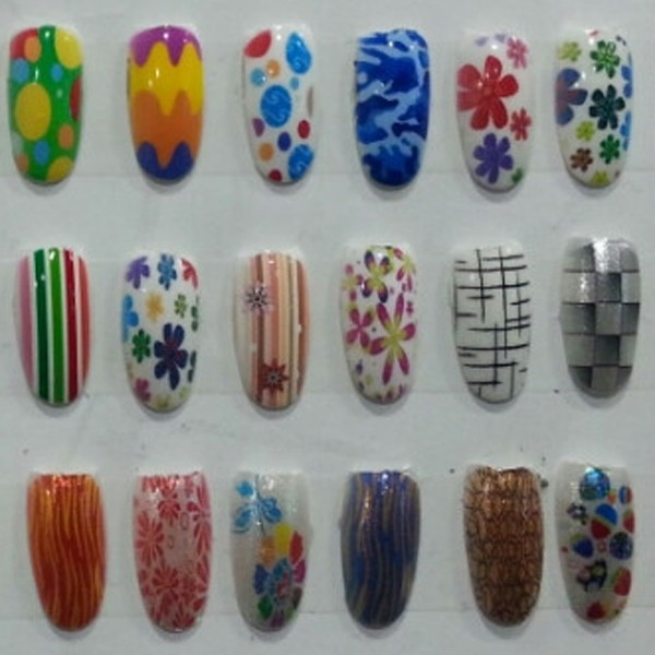 printed artificial nails12