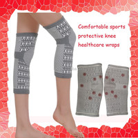 Far infrared magnetic stone and magnetic healthy knee pads