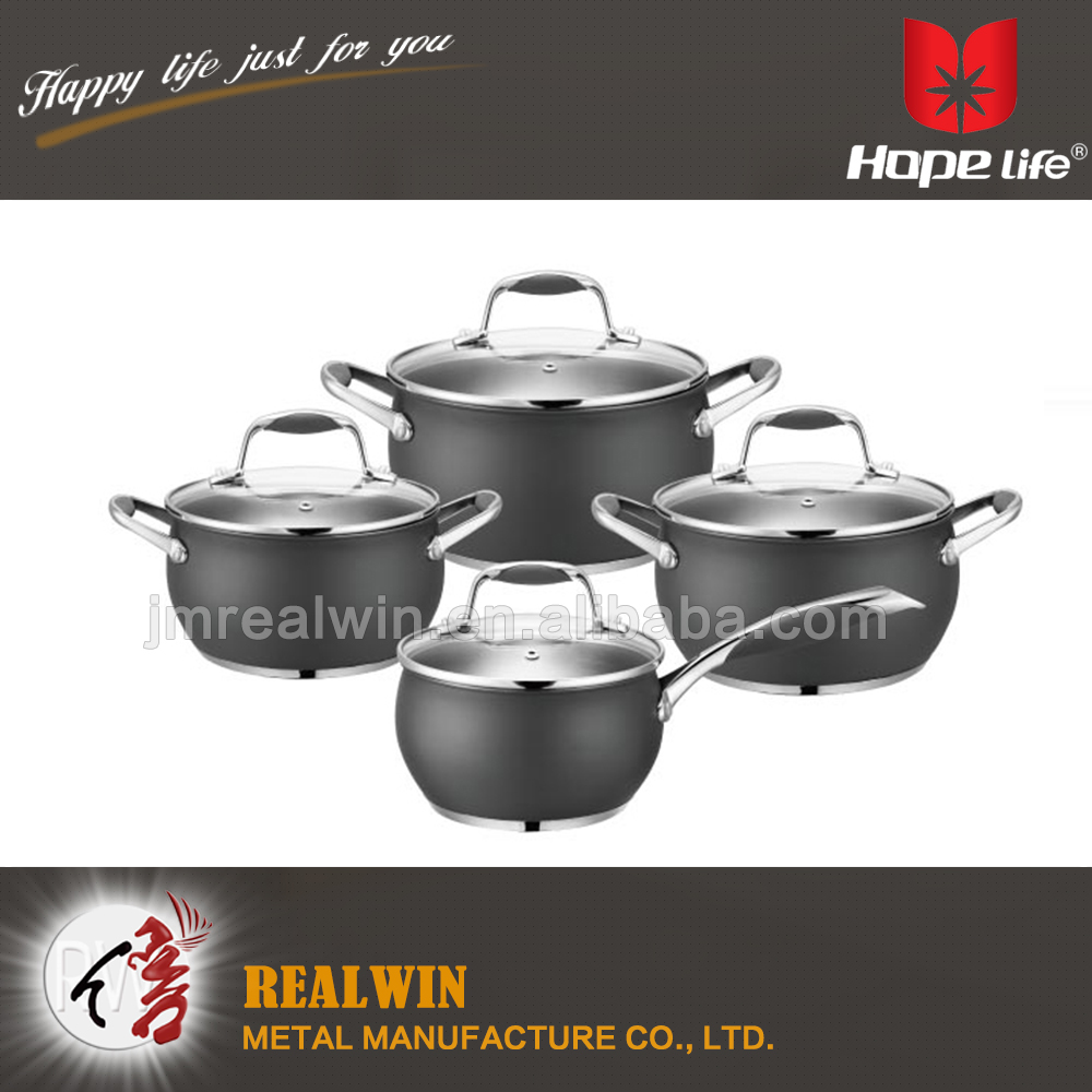 Hot selling high quality low price stainless steel food for Gambar kitchen set high quality