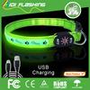 USB rechargeable brilliant pet collar