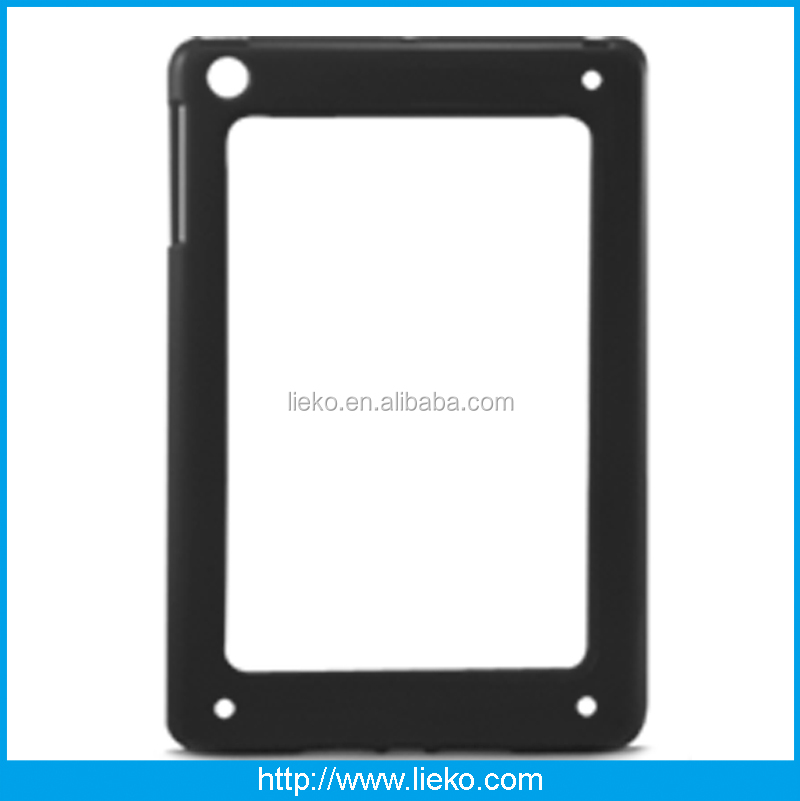 New design fashion TPU frame with PC case for Ipad mini/mini2