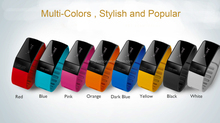 2015 newest top Anti-lost OLED Home electronics bluetooth bracelet watch