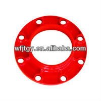 FM Approval Ductile Iron Grooved Fitting of Flange Adaptor