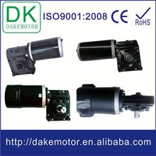 worm gear motor 12V24V 250W with high torque electric vehicle dc motor controller
