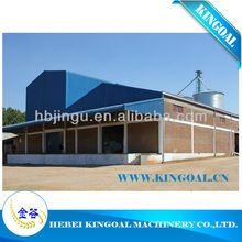 200 toneladas de acero estructura de trigo harina de molino