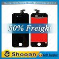 item de venda quente digital a cores de tela do telefone móvel para o iphone 4s