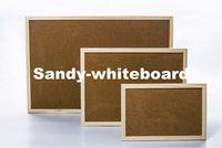wood frame cork notice board 60*90cm 12 pcs/ctn