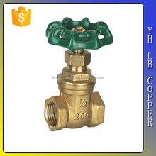China supplier full port brass electric/motorized slide gate valve LINBO-C863