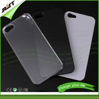 OEM clear white black bulk cell phone case for iphone 5s, blank cell phone case