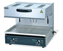 Commercial Kitchen Equipment Adjustable Height Electric Deck Oven Price with Salamander Oven (OT-600S)