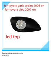 Led car fog light for Toyota Yaris Sedan Belta 2006 Vois 2007 ON excellent quality