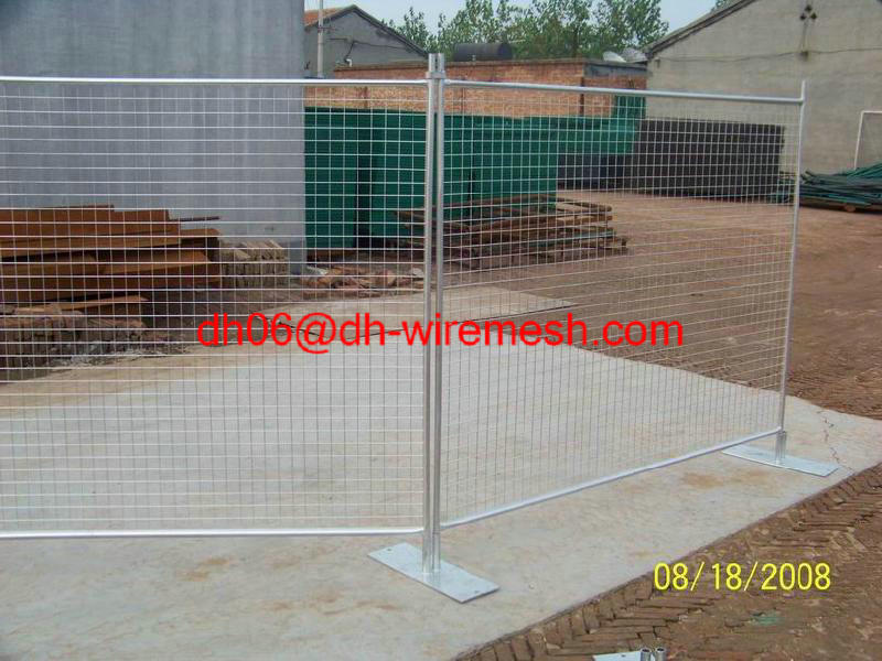 Anping Galvanzied Welded Wire Mesh Temporary Fencing