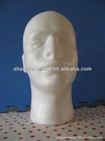 High Quality Foam Male Head Mannequin