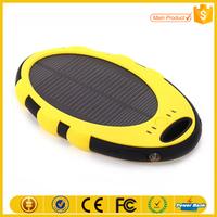 High capacity portable solar power bank waterproof