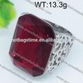 moderno diseño personalizado de la joyería de oro láser chic ingenieros de hierro anillo de venta