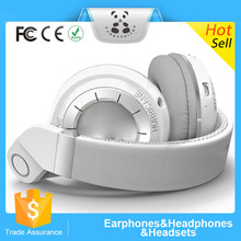Wholesale china products foldable more portable stereo headphones with artificial leather