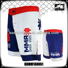 Men's Martial Art Apparel 100% Polyester Wholesale Fighting Shorts Mma Fight Gear
