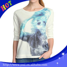 Full size and color led light t-shirt in your own design
