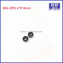 JIANGSU RB TECH BRAND Low Noise and High Performance Automotive Deep Groove Ball Bearing 684 698 ZZ for Home Appliance