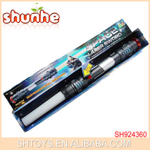 Max Length 108CM Plastic Flexible LED Space Laser Sword With Sound And Light