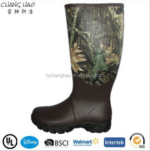 (CH-2587) High quality men's new style rain boots safety rubber boots factory shoes